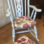 rocking chair & stool